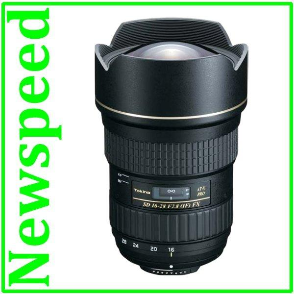 New Canon Mount Tokina AT-X AF 16-28mm F2.8 PRO FX Lens