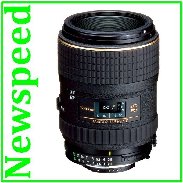 New Canon Mount Tokina AT-X M100 AF 100mm F2.8 PRO D Lens
