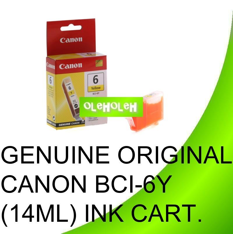 Canon Ori BCI-6Y Yellow BCI-6PC Photo CYAN BCI-6PM PHOTO MAGENTA INK