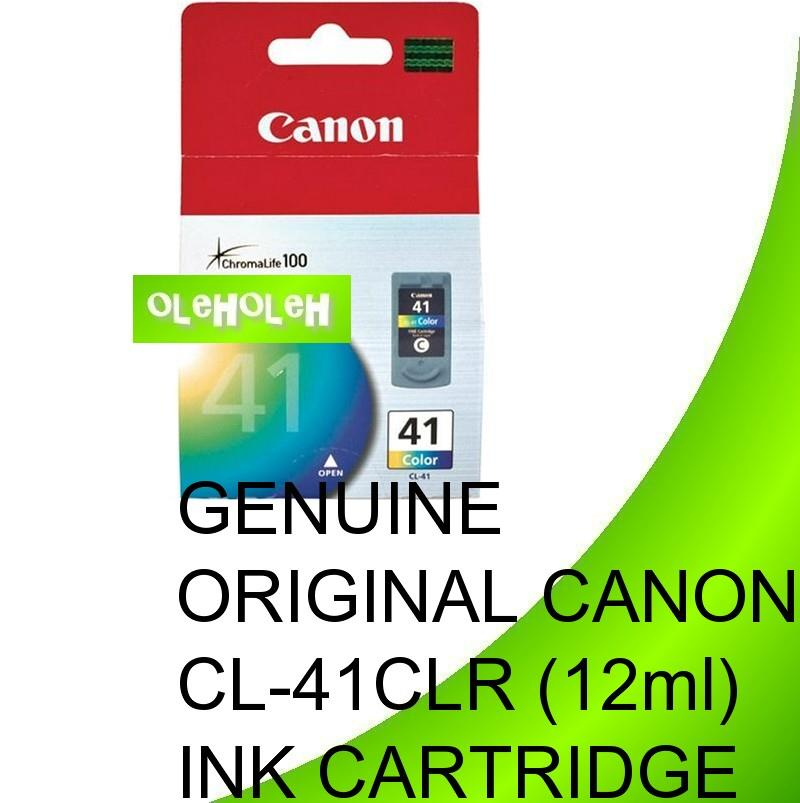CANON ORIGINAL CL41 CL-41 COLOR INK CARTRIDGE