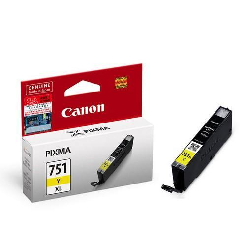 Canon Original Ink Cartridge CLI-751Y XL YELLOW * New-Seal Box*