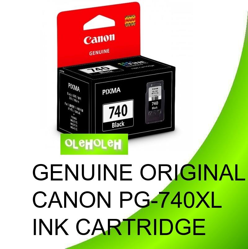 Canon Original PG-740XL Black Ink Cartridge