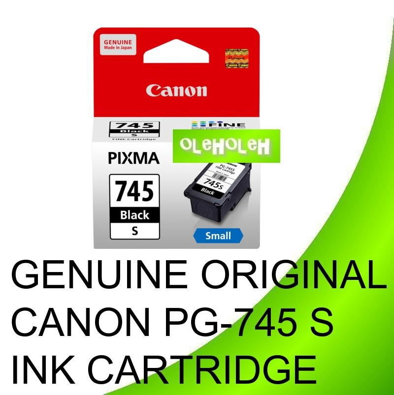 CANON Original PG-745S PG-745 S BLACK INK CARTRIDGE