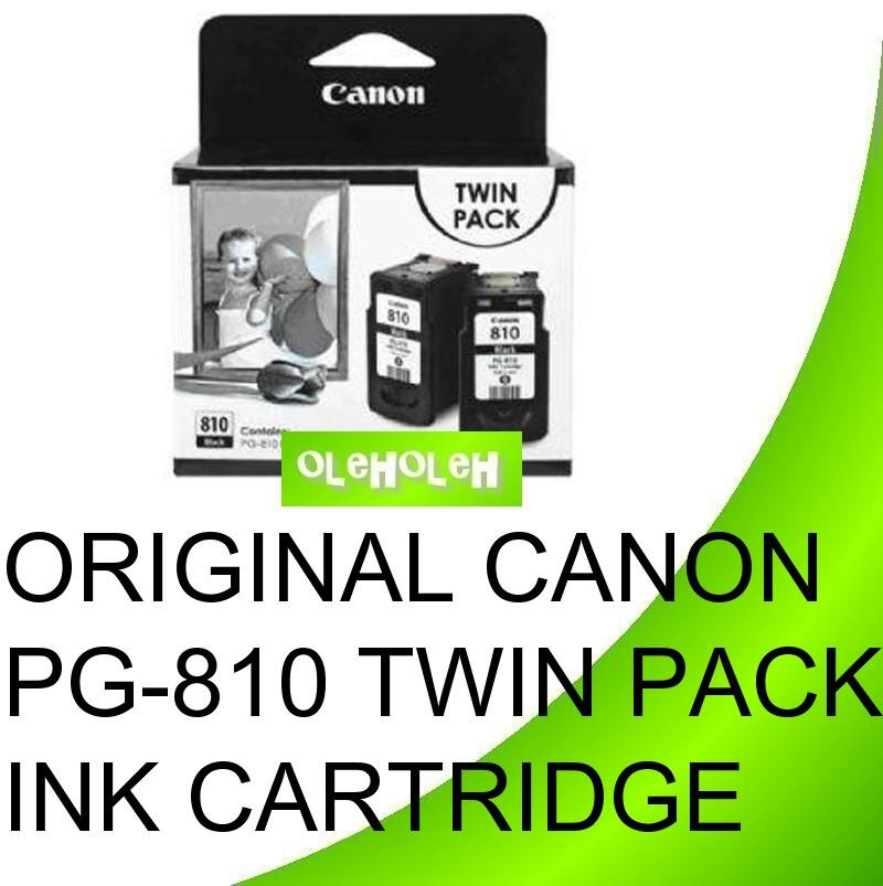 Canon Original PG-810 PG810 Twin Pack Ink Cartridge