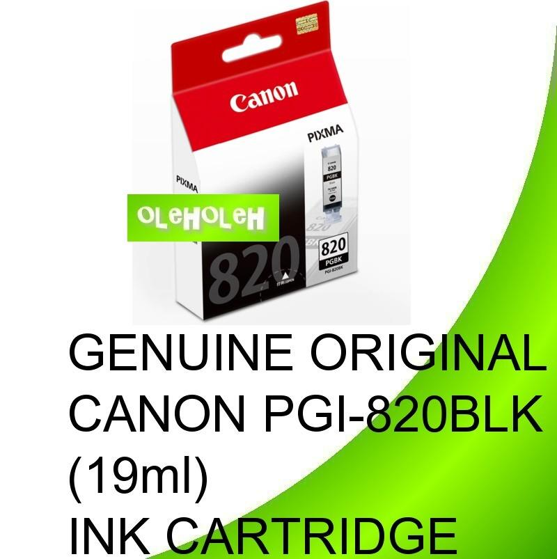 Canon Original PGI-820 PGI-820BK Black Ink Cartridge