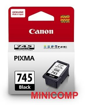 Canon PG 745 Ink Cartridges (Pigment Black)
