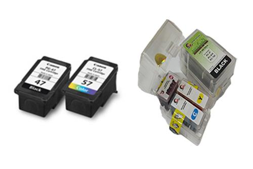 CANON PG47 & CL57 Refillable Smart Cartridge (CISS-A)