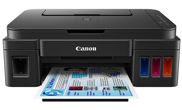 Canon Pixma G2000 Refillable Ink Tank 3in1 Printer (Free Shipping)