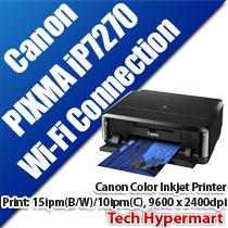 CANON PIXMA iP7270 COLOR INKJET PRINTER