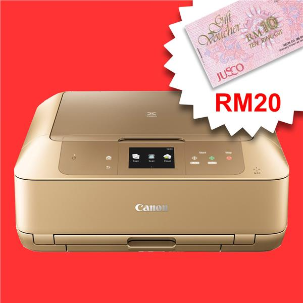 Canon Pixma MG7770-AIO/Touch/Duplex/Color/Inkjet *FREE RM20 AEON*