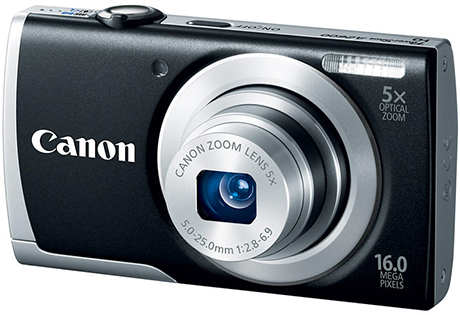 Canon PowerShot A2600 Digital Camera- Black(free 4GB + Case)- F.Ship