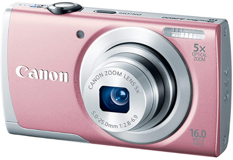 Canon PowerShot A2600 Digital Camera- Silver(free 4GB + Case)- F.Ship