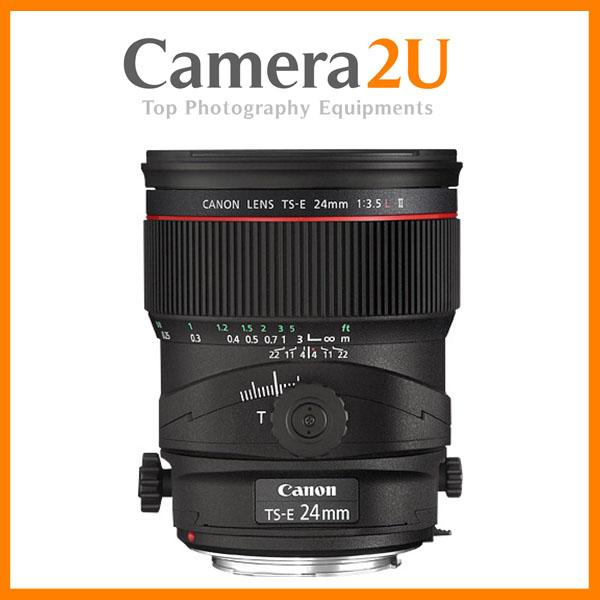 NEW Canon TS-E 24mm f/3.5L II Tilt-Shift Manual Focus Lens