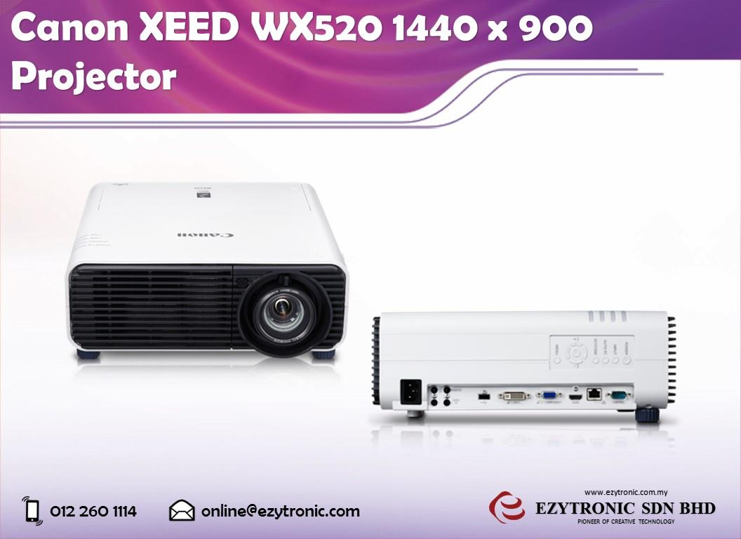 Canon XEED WX520 1440 x 900 Projector