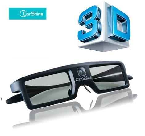 Canshine 3D active shutter DLP-Link 144Hz Glasses Glass