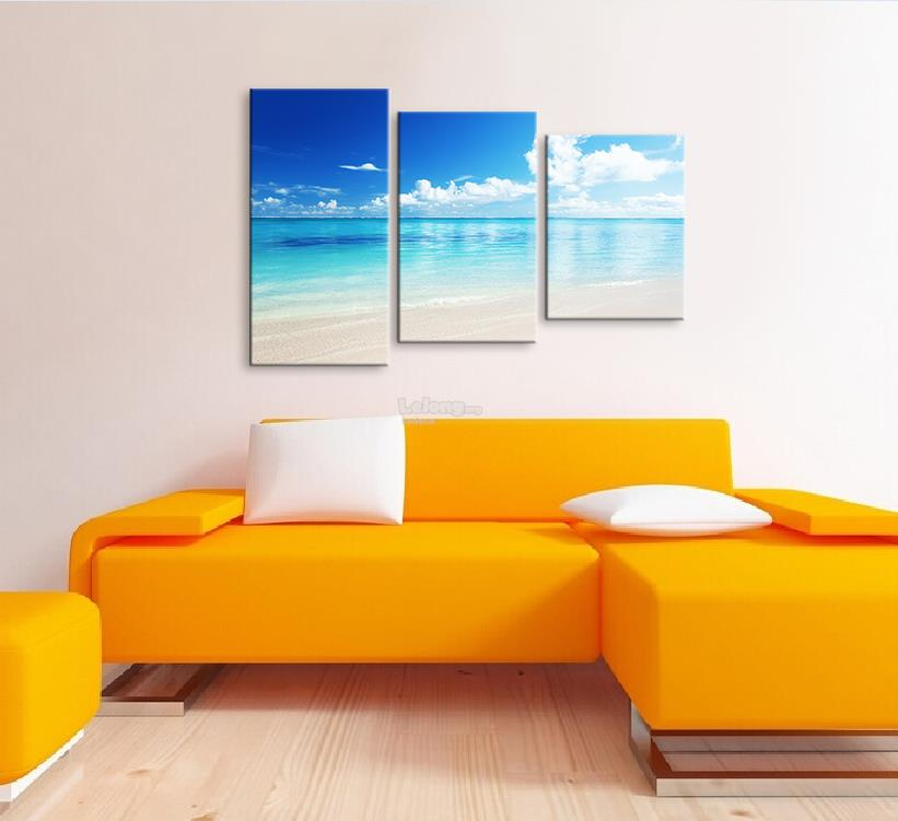 Canvas print 3 Panel (With Frame) X0006