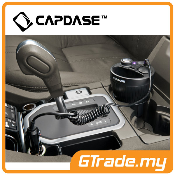 CAPDASE Car Charger Cup Holder 3.1A Samsung Galaxy S7 S6 Edge S5 S4 S3