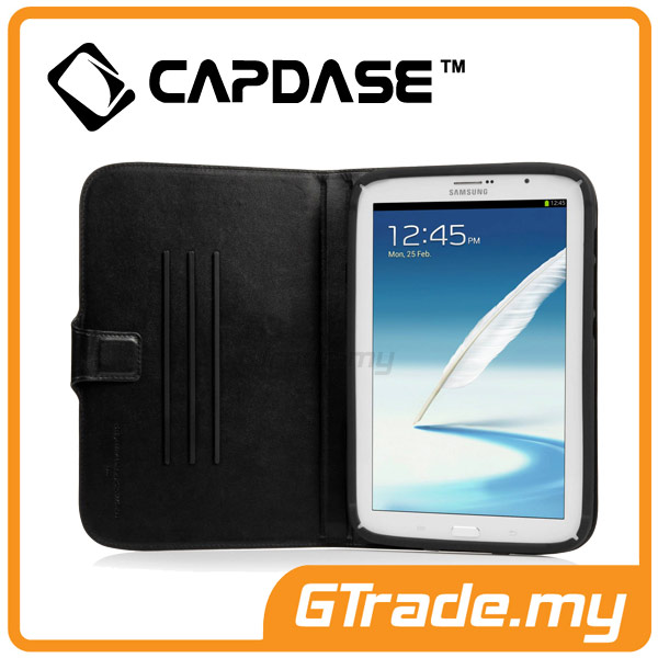 CAPDASE Folder Case Flip Jacket | Samsung Galaxy Note 8.0 - Black