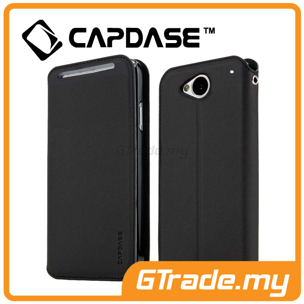 CAPDASE Folder Case Sider Baco | HTC One M7 - Black