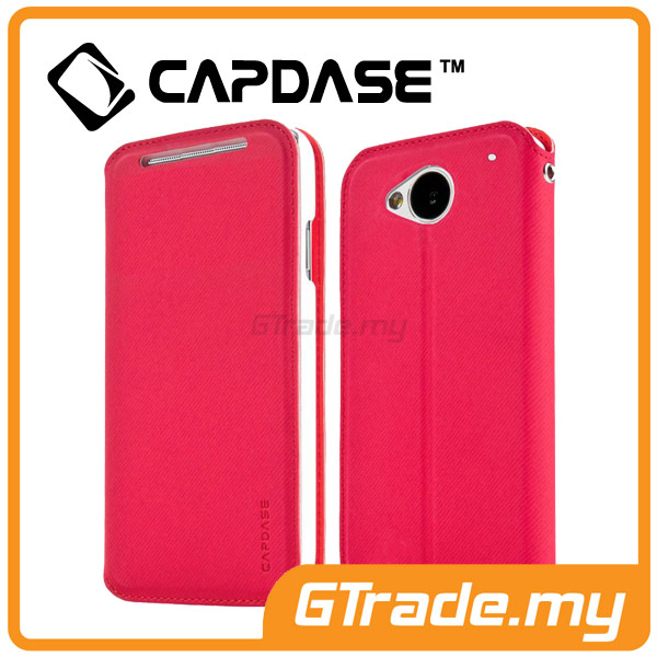 CAPDASE Folder Case Sider Baco | HTC One M7 - Red