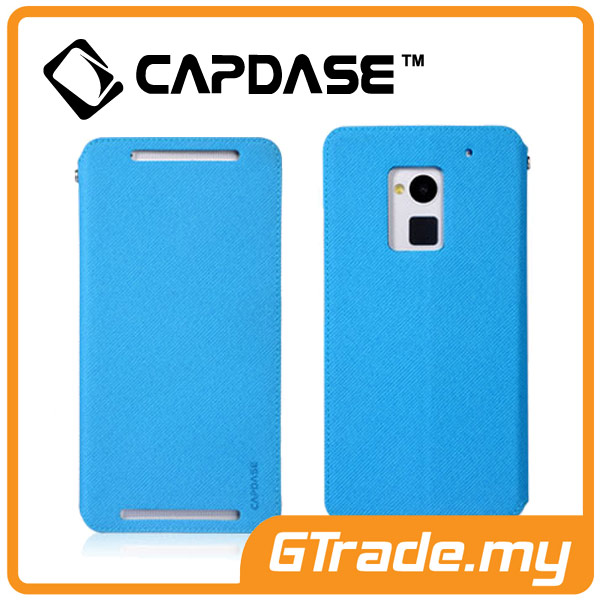 CAPDASE Folder Case Sider Baco | HTC One Max - Blue