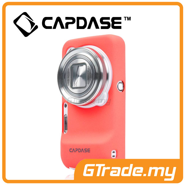 CAPDASE Karapace Jacket Case Touch | Samsung Galaxy S4 Zoom - Pink