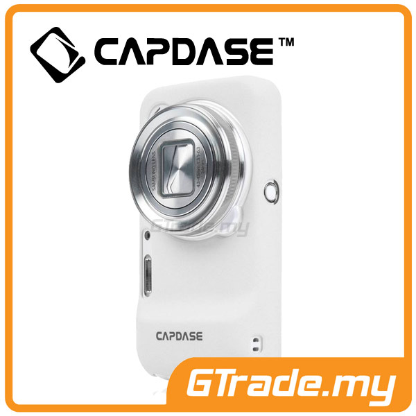 CAPDASE Karapace Jacket Case Touch | Samsung Galaxy S4 Zoom - White
