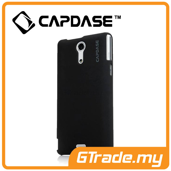 CAPDASE Karapace Jacket Case Touch | SONY Xperia ZR - Black