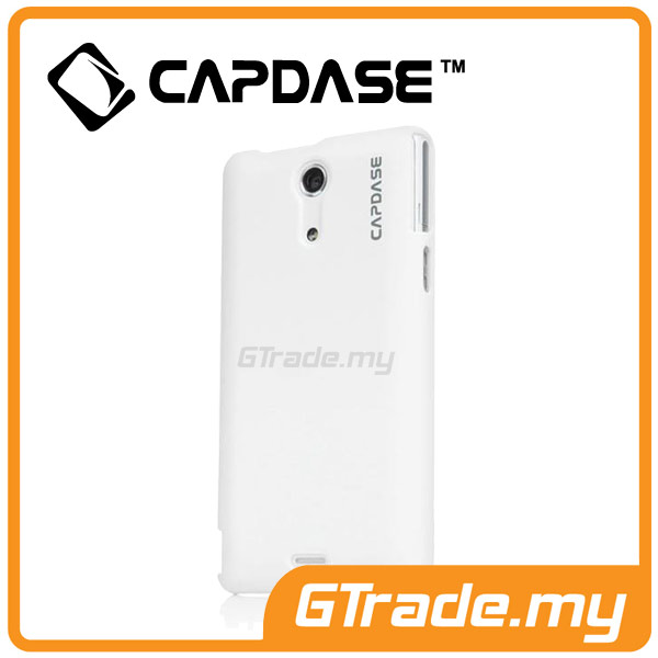 CAPDASE Karapace Jacket Case Touch | SONY Xperia ZR - White