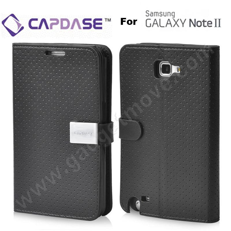 Capdase Samsung Galaxy Note 2 II N7100 Folder Leather Case Sider Flip