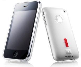 Capdase Soft Jacket 2 Xpose Soft TPU case for Apple Iphone 3G iphone 3