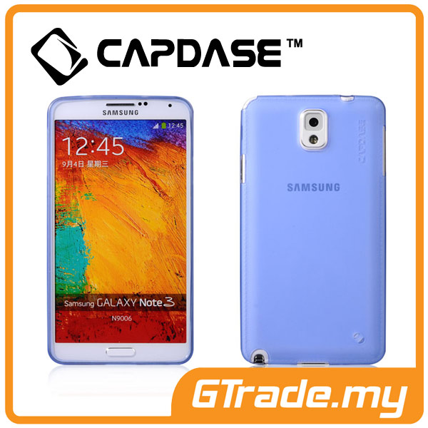 CAPDASE Soft Jacket Case Lamina | Samsung Galaxy Note 3 - Tinted Blue