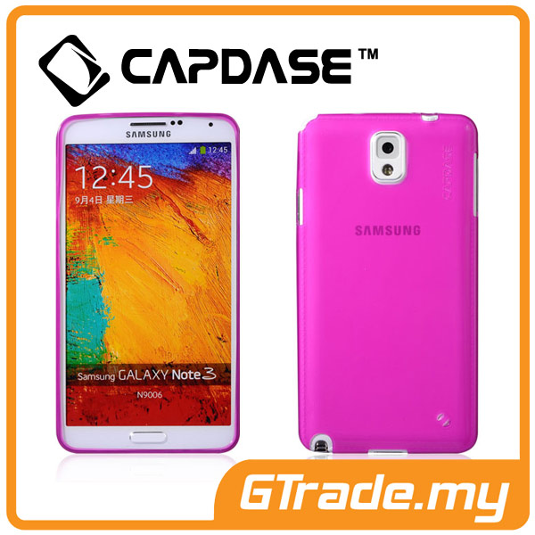CAPDASE Soft Jacket Case Lamina | Samsung Galaxy Note 3 - Tinted Pink