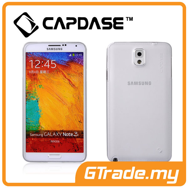 CAPDASE Soft Jacket Case Lamina | Samsung Galaxy Note 3 - Tinted White