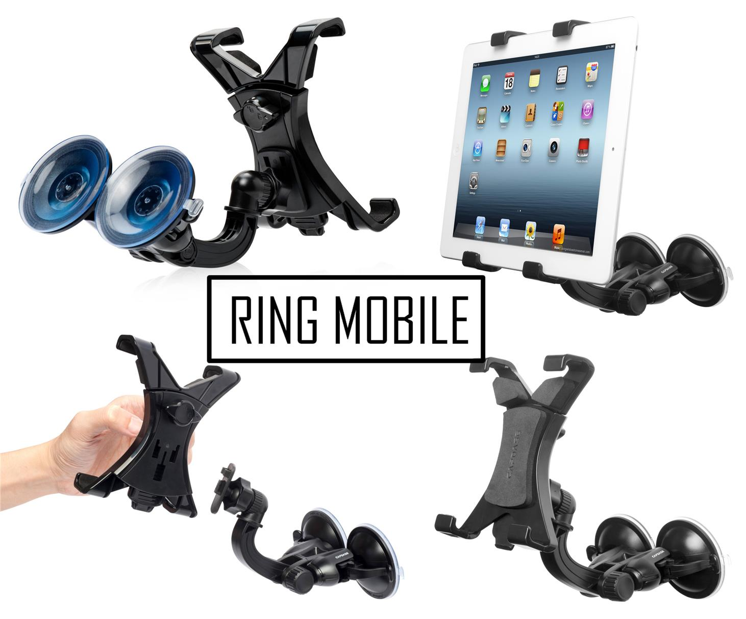 Capdase Suction Duo Tab - X Car Mount Holder - rmtlee