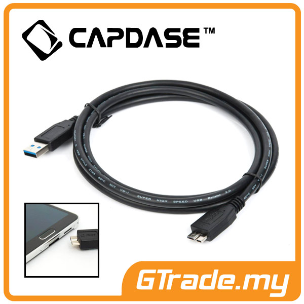 CAPDASE Sync & Charger Micro USB 3.0 Cable |Samsung Galaxy Note 3 4 S5