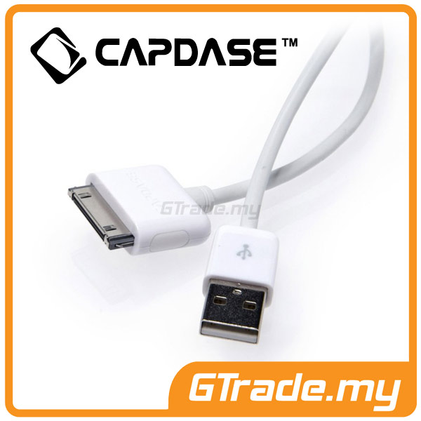 CAPDASE USB 30-pin Cable Apple iPhone 4S 4 3GS 3G iPod iPad 3 2 1