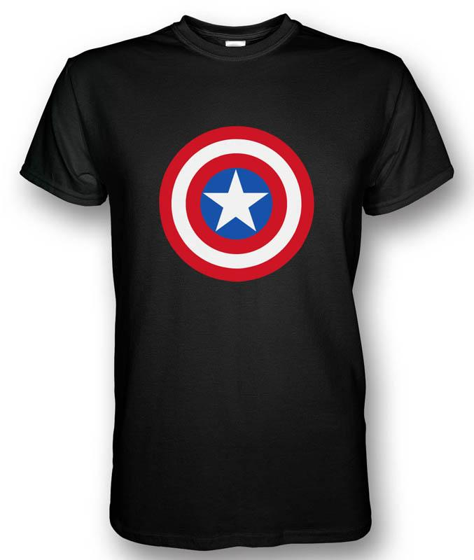 Captain America Shield T-shirt Red/Blue/White