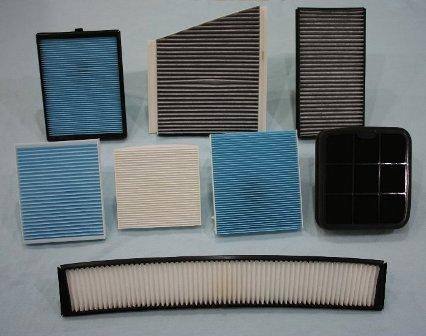 Car air-cond cabin filter (Proton Iswara)