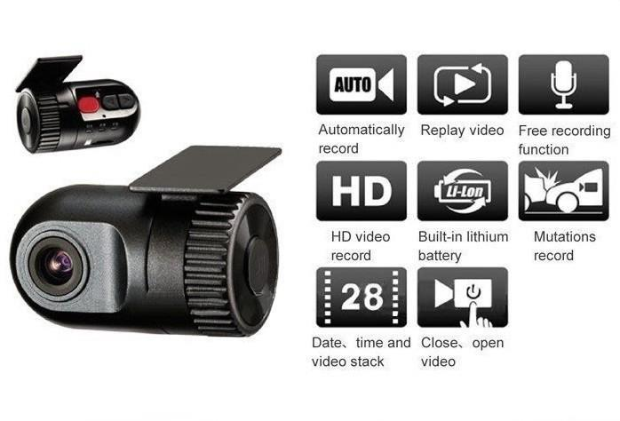 Car Camera Video Recorder Connected GPS Car Navigation And DVD players