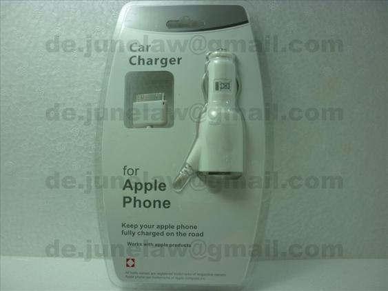 Car Charger for Apple iPhone 4S 3Gs 3G Ipad Ipad 2 iPod Nano Touch