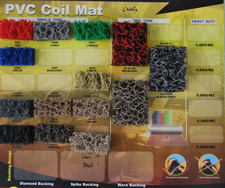 Car Custom Made Coil Mat RM160 NETT Full Set for Myvi Viva Saga Wira i..