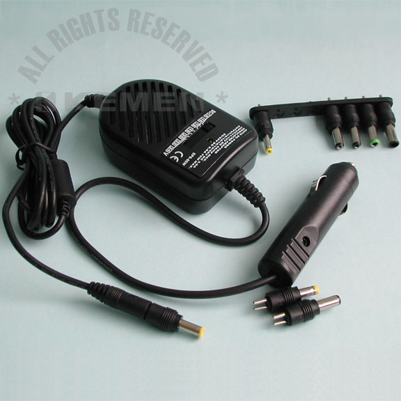 Car Use DC Power Regulated Adaptor For Laptop Computer