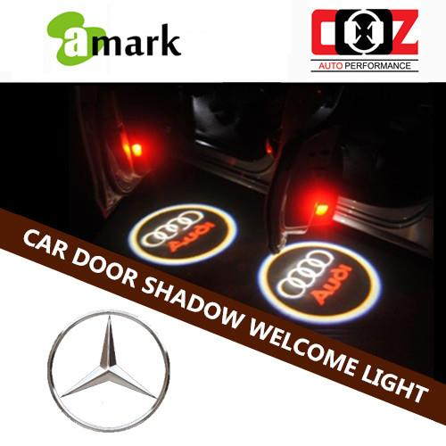 Car Door Welcome Laser Projector Logo Ghost Shadow Light - M/BENZ E-CL
