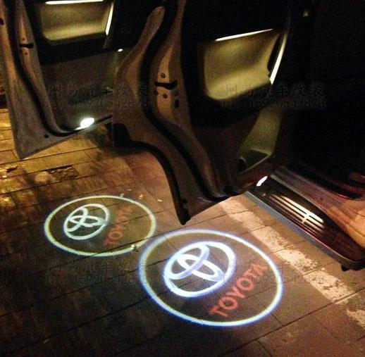 Car Door Welcome Laser Projector Logo Ghost Shadow Light (TOYOTA)