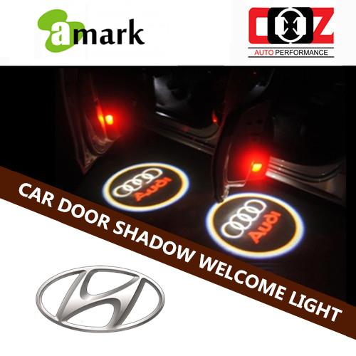 Car Door Welcome Laser Projector Logo  Shadow Light - Hyundai Sonata
