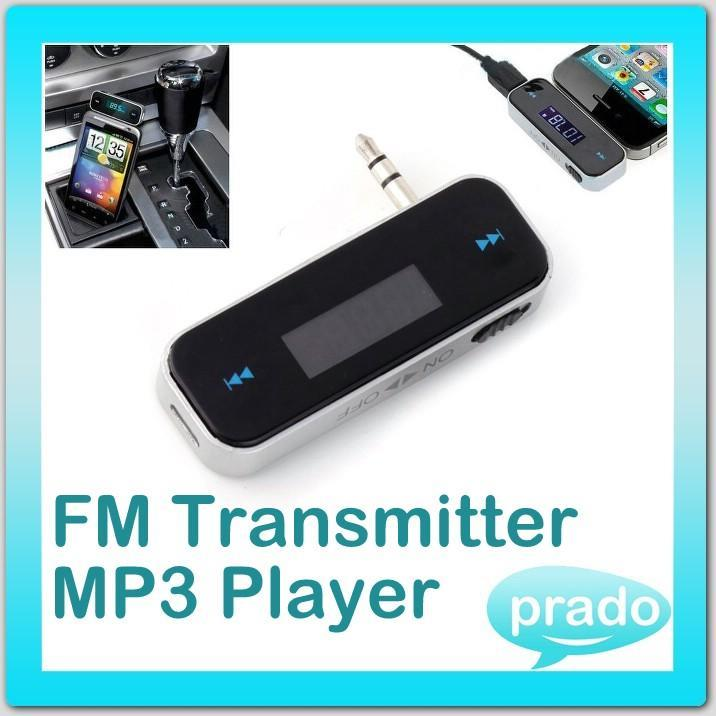 In-car Handsfree FM Transmitter Car MP3 Music Player AUX All Phones