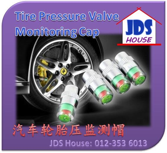 Car Motorcycle Tire Tyre Pressure Valve Cap Gauge Monitor Indicator
