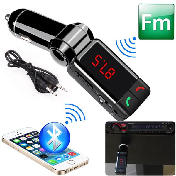 CAR MP3 PLAYER BLUETOOTH  FREE DUAL CHARGER FM TRANSMITTER HANDS