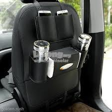 Car Seat Organizer Phone Holder Multi-pocket Travel Storage Bag Hanger